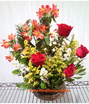 Cód: 5644             Arranjo de Flores