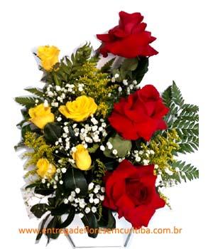 Cód: 5553                          Arranjo de Flores Jd Américas