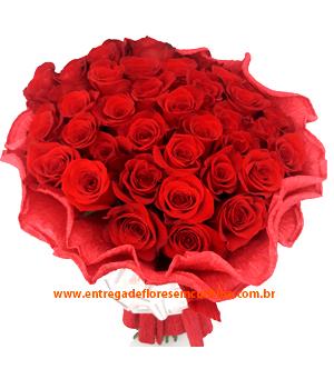 Cód: 5136 Buquê 30 Rosas