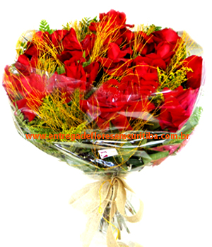 Cód: 5488                         Buquê de Flores Ramalhete de Importadas.