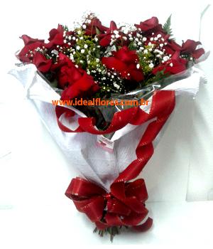 Cód: 5709                      Buquê Rosas Colombianas embalagem especial