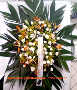 Cód: 5632                                         Coroa de Flores Omega