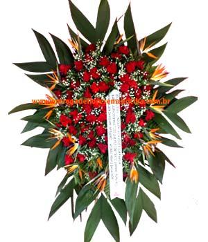 Cód: 5183                                       Coroa de Flores Sentimentos