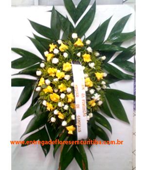 Cód: 5132                    Coroa de Flores Água Verde