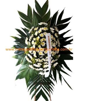 Cód: 5286                            Coroa de Flores Simples