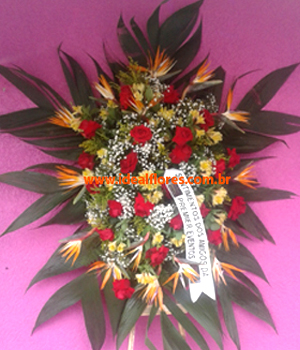 Cód: 5705                    Coroa de Flores Jd da Saudade