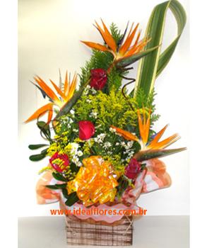 Cód: 5645                    Arranjo de Flores