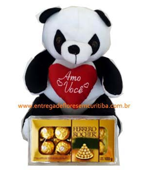 Cód: 5182                                      Panda com Ferrero